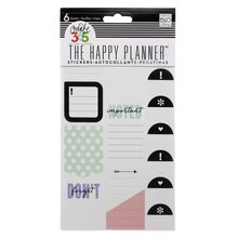 Create 360 The Happy Planner Don't Forget Stickers