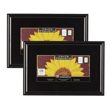 2 pack studio decor trendsetter poster frame black 11 x 17