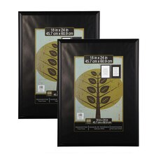 2 pack studio decor trendsetter poster frame black 18 x 24