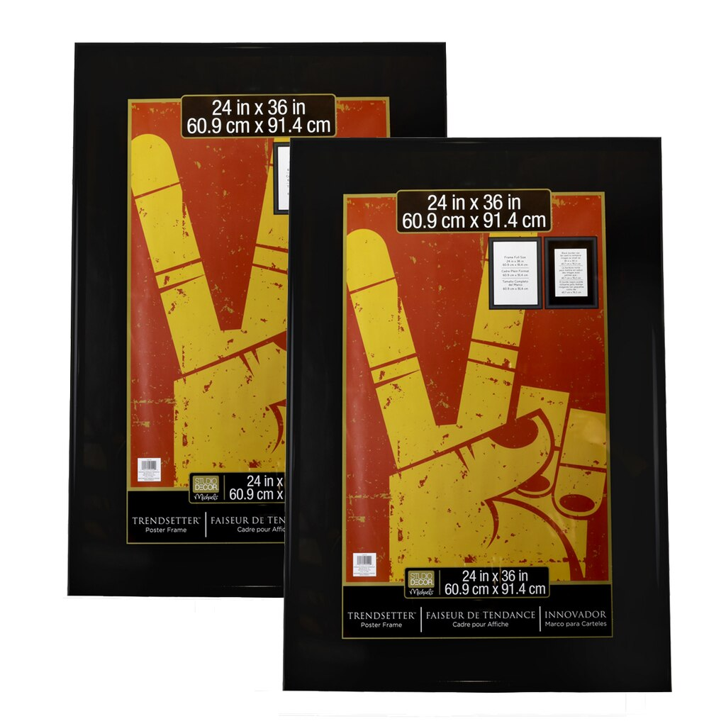 Trendsetter™ 2 Pack Poster Frames By Studio Décor®