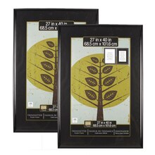 "2-Pack Studio Decor® Trendsetter™ Poster Frame, Black 27"" X 40"", medium"
