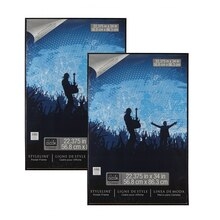 "2-Pack Studio Décor® Styleline™ Poster Frame, Black 22.375 "" x 34"", medium"