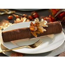 Leather Napkin Ring, medium
