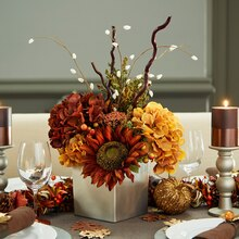 Fall Floral Centerpiece, medium
