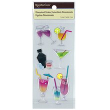 Dimensional Cocktail Stickers by Recollections