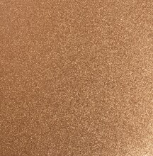 Recollections Signature Glitter Paper Copper