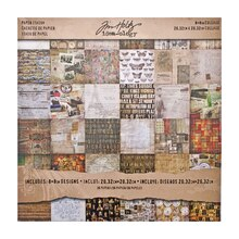 Tim Holtz Idea-ology Mini Paper Stash, Collage