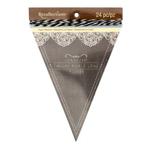 Black Chalkboard Paper Banners by Recollections