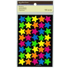 Neon Star Stickers by Recollections