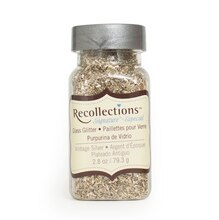 Vintage Glass Silver Glitter by Recollections
