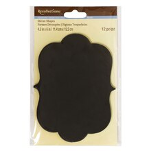 Ornate Paper Chalkboard Tags by Recollections