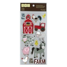 Fun on the Farm Dimensional Stickers by Recollections