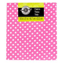 Cotton Fabric by Loops & Threads, Small Dots, Pink