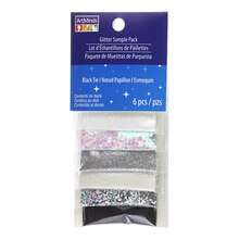 Black Tie Glitter Sample Pack by ArtMinds