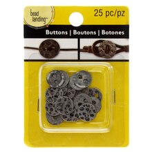 Metal Buttons by Bead Landing