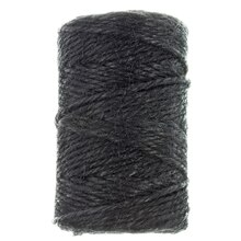 Black Jute Cording by Bead Landing