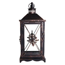 Large Damask Metal Lantern by Ashland
