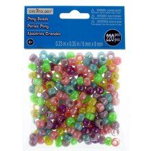 Multicolored Pony Beads by Creatology