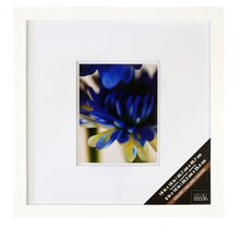 "White Gallery Frame With Double Mat by Studio Decor®, 8"" x 10"", medium"