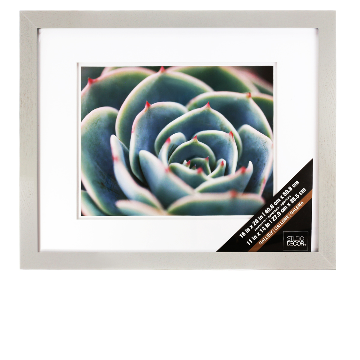 Wall Art Decor Michaels : Grey gallery wall frame with double mat by studio d?cor?