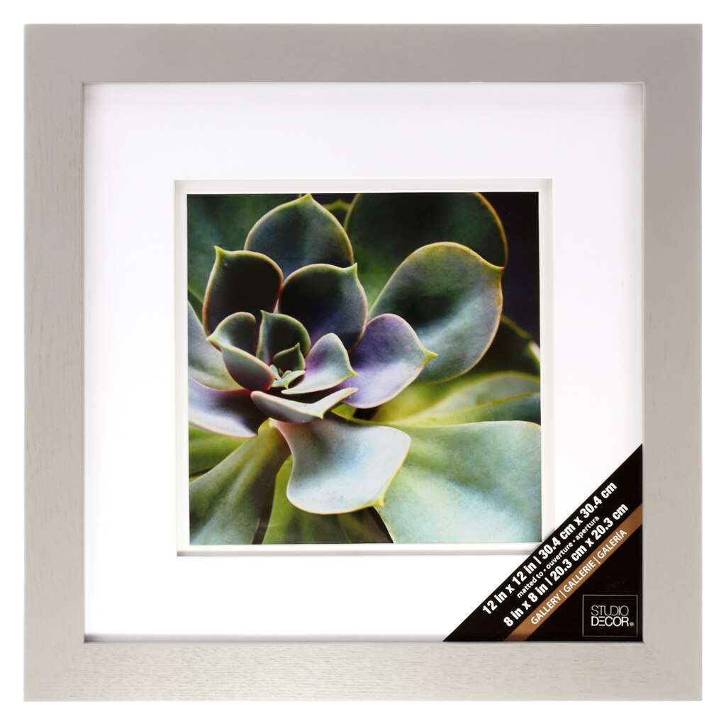 Grey Gallery Wall Frame With Double Mat By Studio D 233 Cor 174