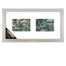 Gray 2-Opening Gallery Frame with Double Mat by Studio Décor