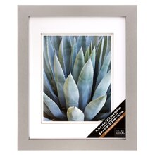 "Gray Gallery Frame With Double Mat by Studio Decor, 8"" x 10"""