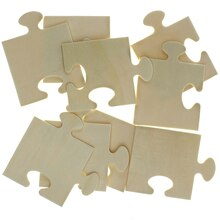 Wooden Puzzle Shapes by Creatology