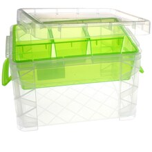 Large Storage Box with Dividers by Creatology