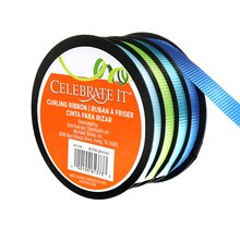 Blue and Green Curling Ribbons by Celebrate It