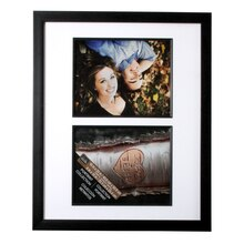 Double Portrait Frame by Studio Decor