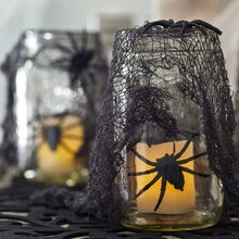 Mason Jar Spooky Lanterns, medium
