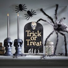 Trick or Treat Tombstone Shadow Box, medium