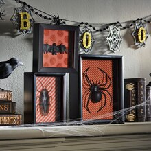 Creepy Shadow Box Trio, medium