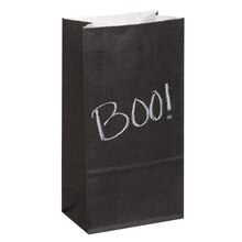 Paper Chalkboard Party Bags, 8ct, medium