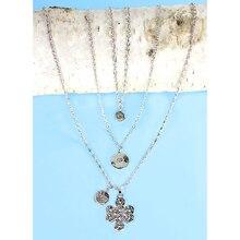 Amulet Layered Necklace Trio, medium