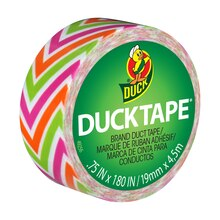 Ducklings Mini Duck Tape Brand Duct Tape, Zig Zag