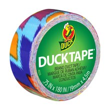 Ducklings Mini Duck Tape Brand Duct Tape, Ikat Fever