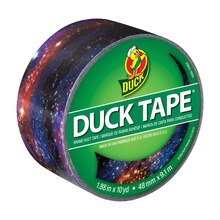 Printed Duck Tape Brand Duct Tape, Galaxy