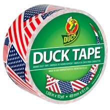 Printed Duck Tape Brand Duct Tape, U.S. Flag