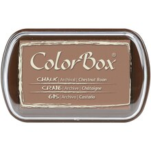 ColorBox Full Size Chalk Pastels, Chestnut