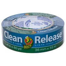 """Duck Brand Clean Release Painter's Tape, Blue, 1.41"""" x 60 yd."""
