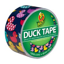 Duck Brand Rubber Duckies Printed Tape