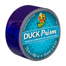 Duck Prism Mini Crafting Tape, Purple Lots of Dots