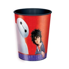 16oz Big Hero 6 Plastic Cup