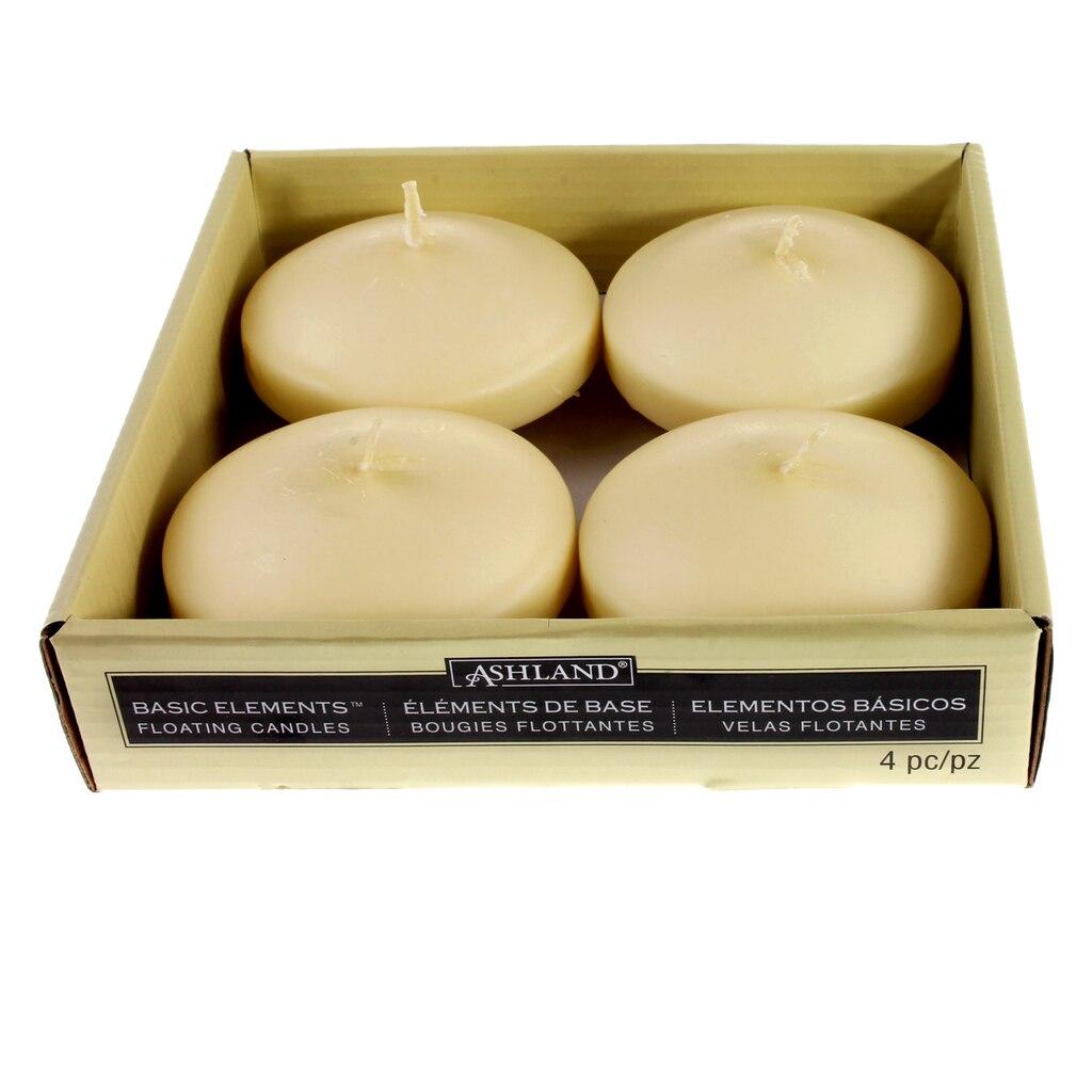 Basic Elements™ Ivory Floating Candles by Ashland®