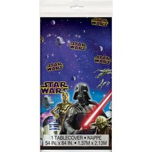 "Plastic Classic Star Wars Table Cover, 84"" x 54"", medium"