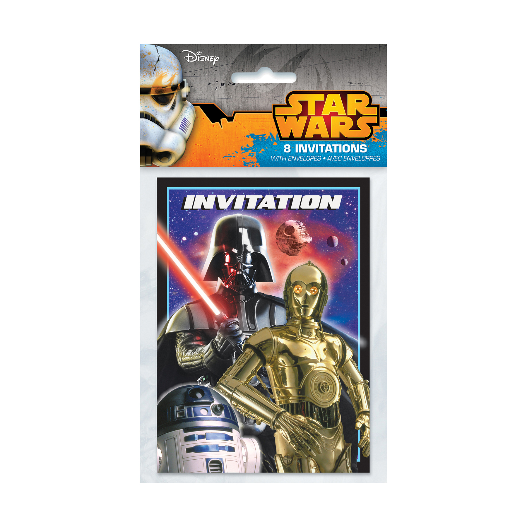 Classic Star Wars Invitations Star Wars Party Supplies