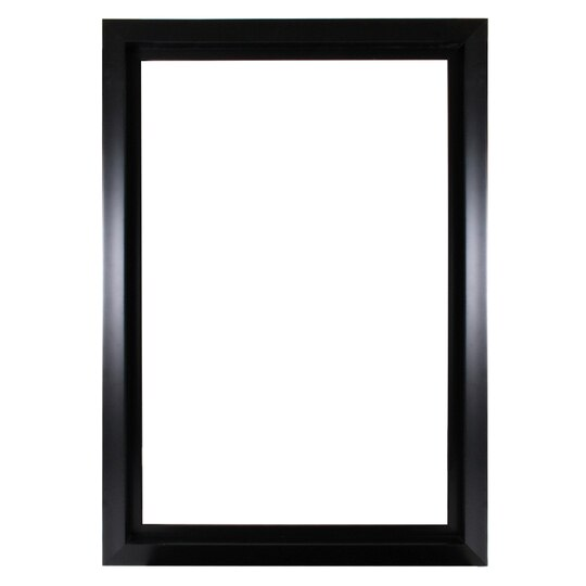 Buy The Black Smooth Open Back Frame 24 X 36 By Studio