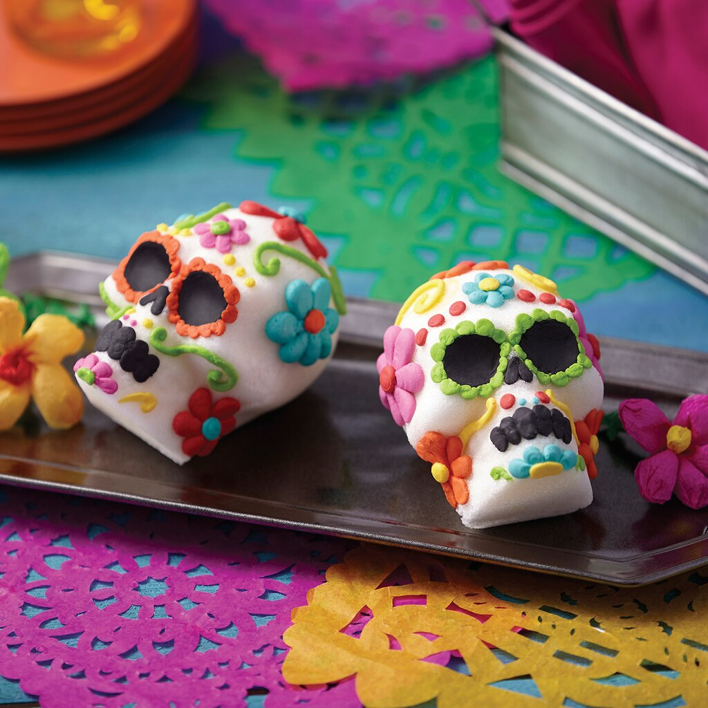 Day of the dead sugar skull for Day of the dead craft supplies